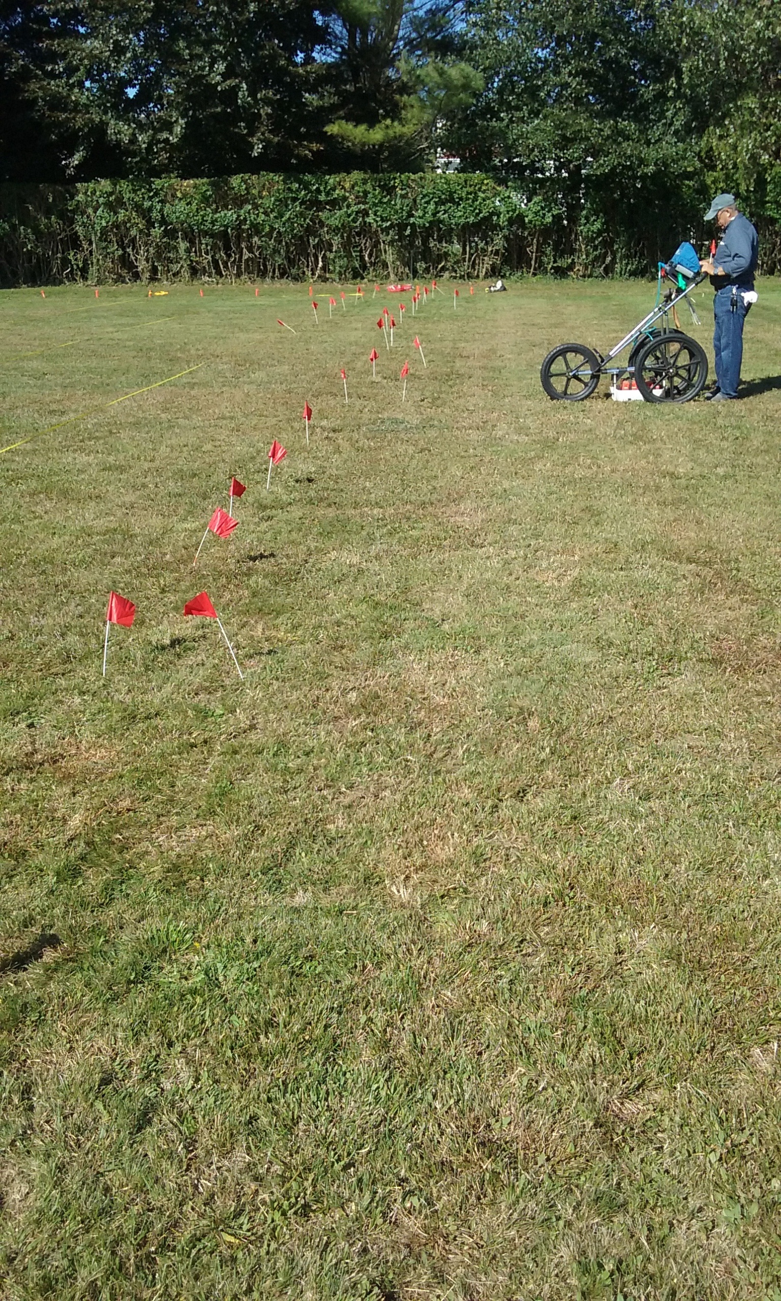 GPR at Old Burial Ground